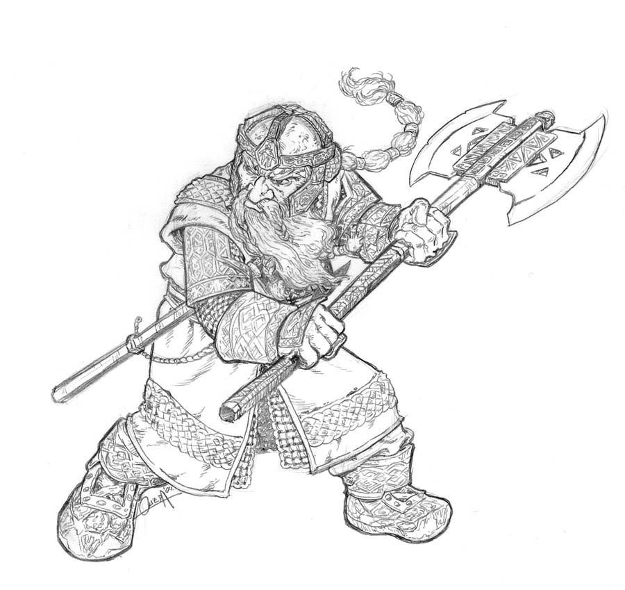 Gimli by mistermoster on deviantART