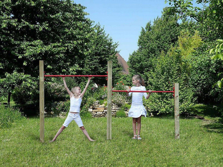 Ideal Kletterger te Kletterger ste und Turnreckstangen als Spielplatz bei Woodinis
