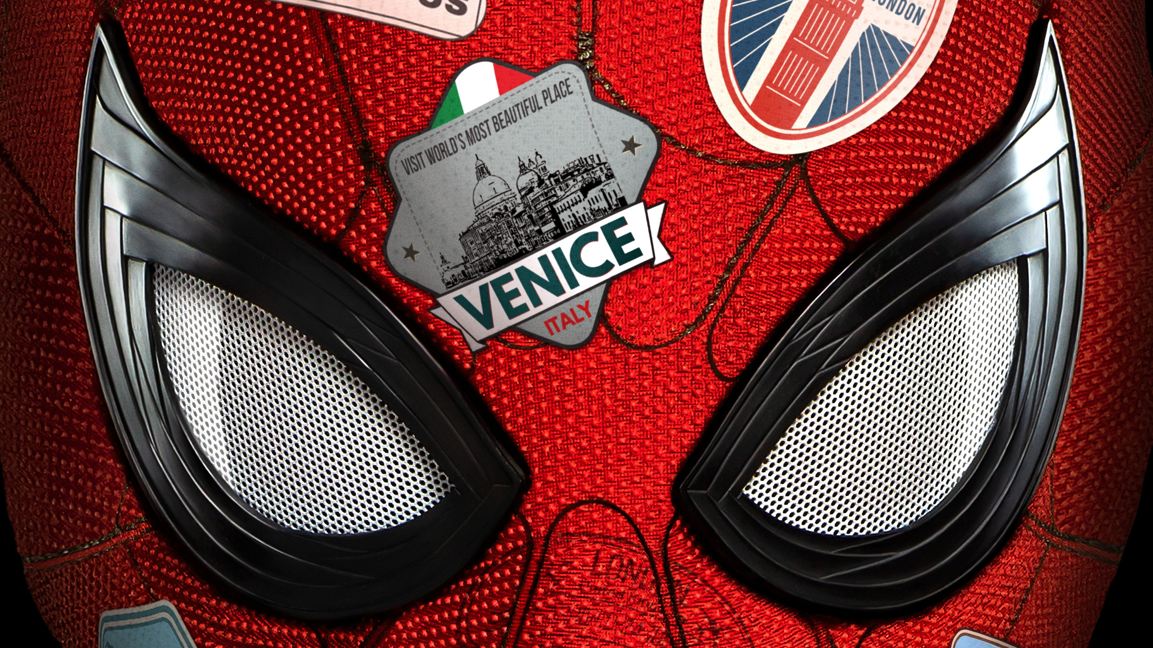 Spider Man Far From Home Movie 4k tom holland wallpapers