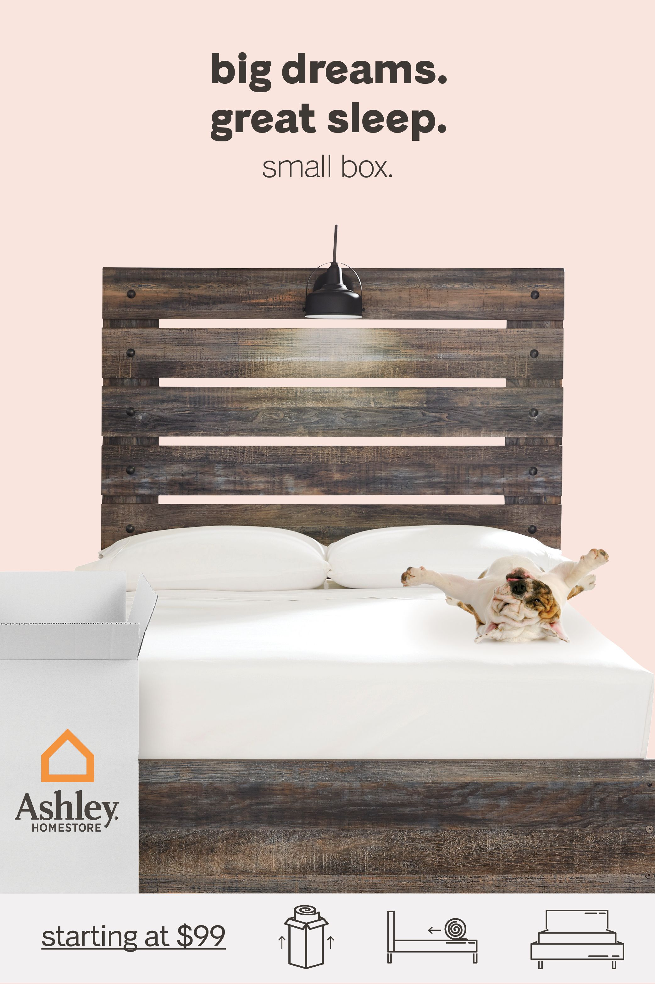 Incredibly Convenient Mattress In A Range Of Styles And Are Delivered Right To Your Door Box Bedroom Coastal Bedrooms Home