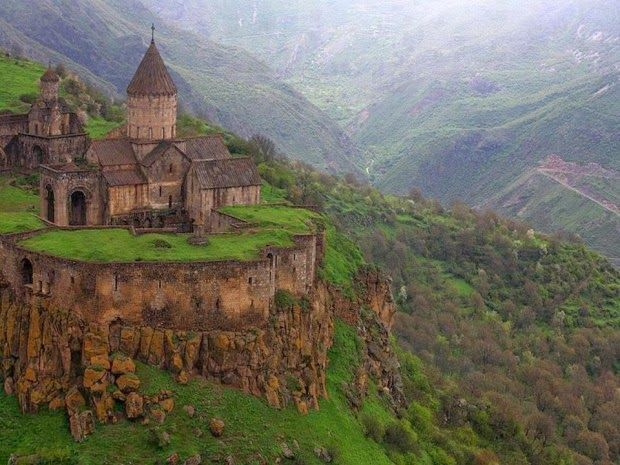 9th Century Monastery of Tatev in Southeastern Armenia