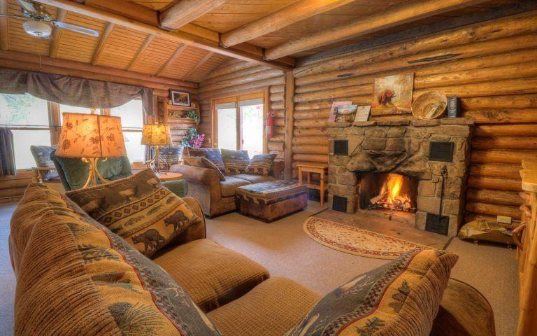 Native Living Room Interior Design Unique Vacation Home Homestead