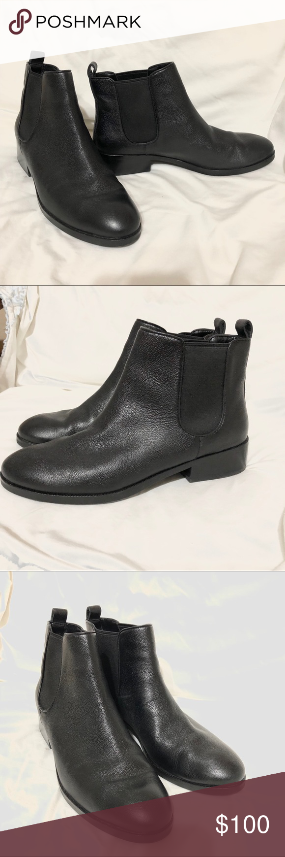 e880afddf27 Cole Haan black Leather booties size 8.5 Cole Haan Landsman Bootie Black  Women Size 8.5 Black