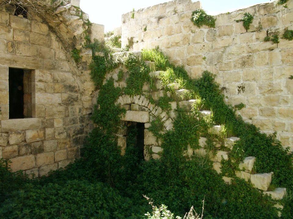 من داخل بيت مهجور في رام الله Palestine Architecture Middle East