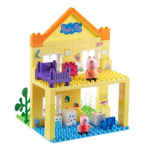 Superb Peppa Pig Deluxe House Construction Set Now At Smyths