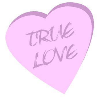 Heart Clip Art True Love Candy Heart Clip Art Conversation Hearts