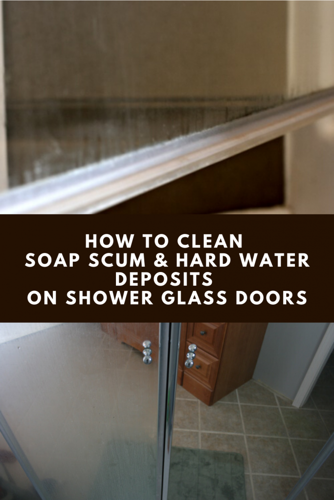 How To Clean Soap Scum And Hard Water Deposits On Shower Glass Doors Xcleaning Net Your Cleaning Tips In 2020 Glass Shower Glass Shower Doors Cleaning Shower Glass
