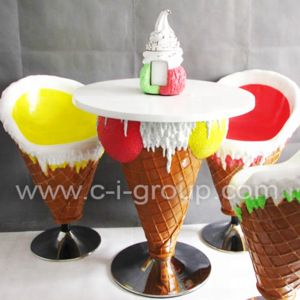 Source Ice Cream Shop Theme Furniture Table And Chairs Ice Cream