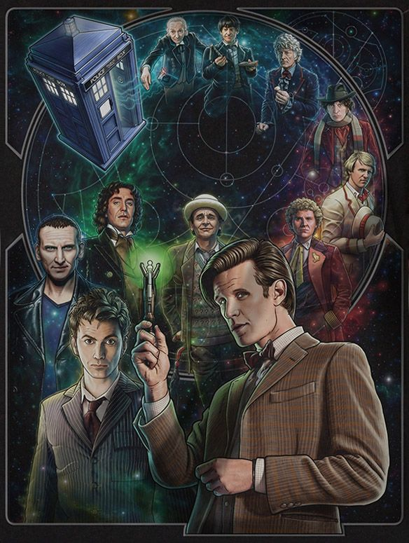 doctor who 50th anniversary t shirt