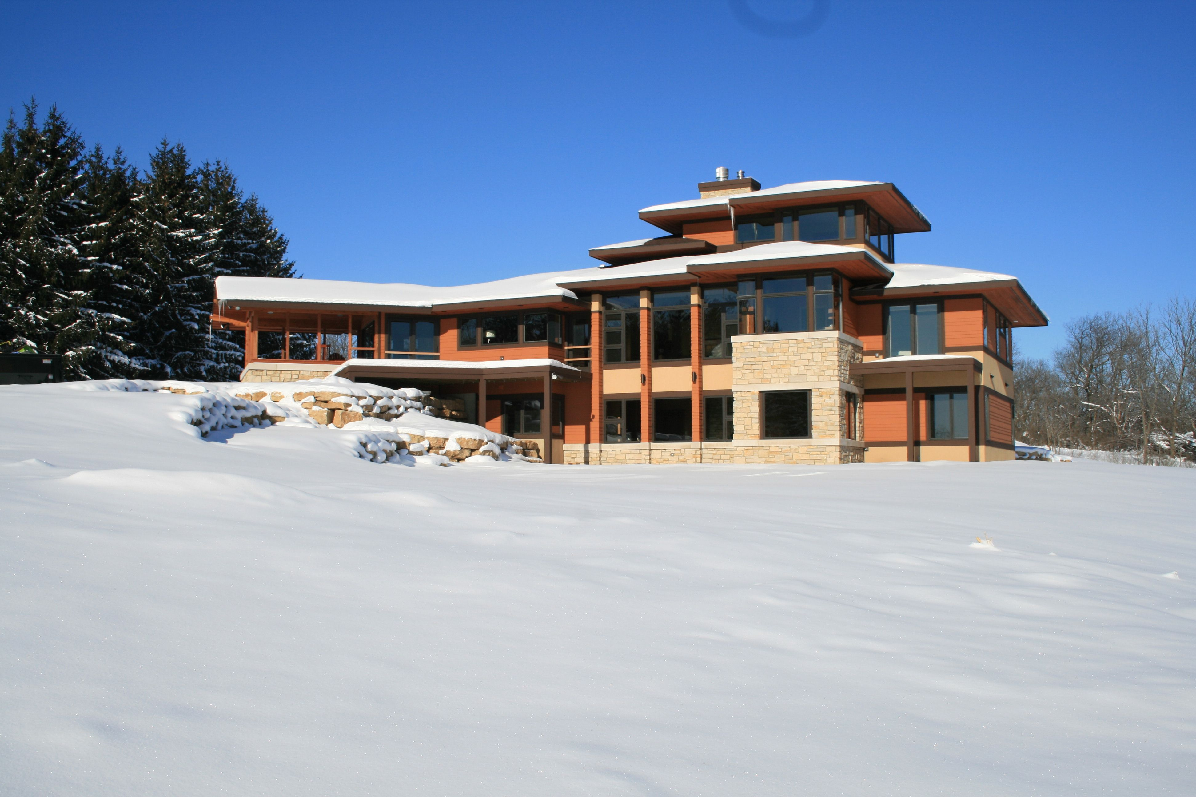 Modern Prairie Style Home Madison Wi Residential