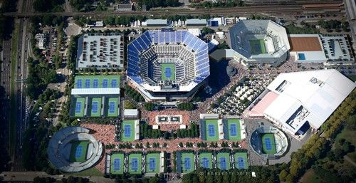 An Aerial View Of What The Usta Billie Jean King National