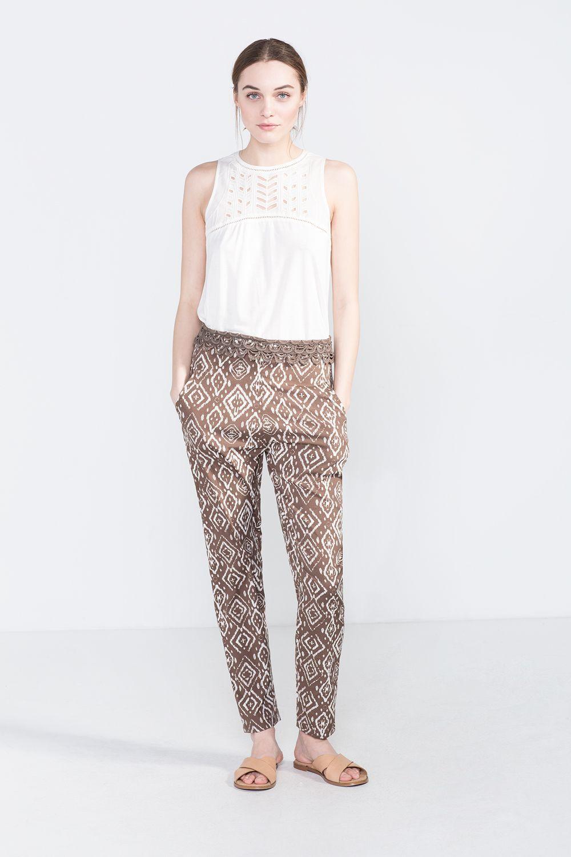 varios tipos de proporcionar una gran selección de mejor baratas Cortefiel - Pantalón fluido | Moda | Pantalones mujer, Ropa ...