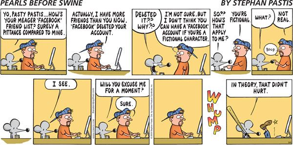 Pearls Before Swine by Stephan Pastis for September 06, 2009