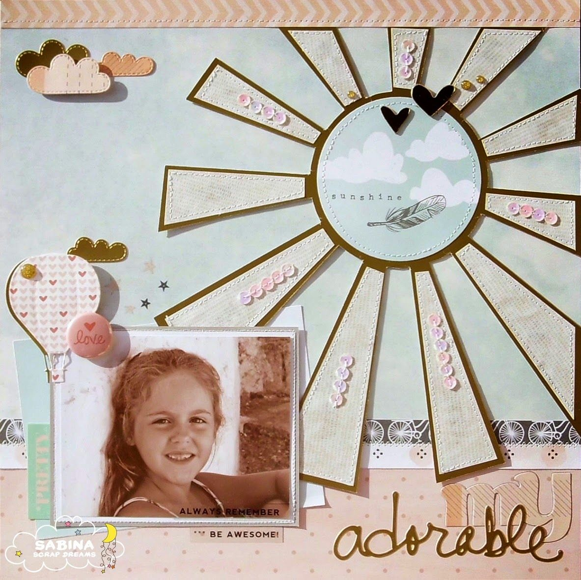Briciole di Scrapbooking: Dream layout #12.14 {DT}