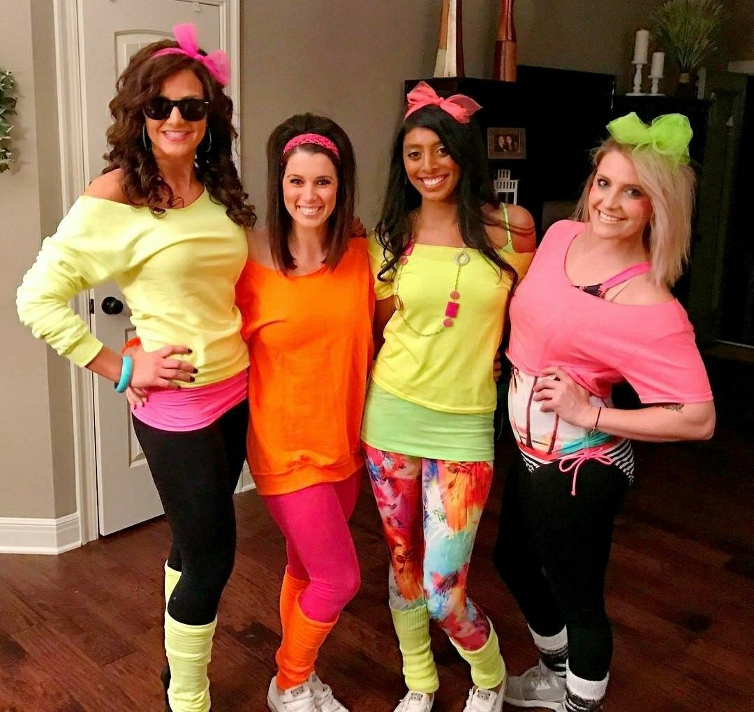 Outfit Dance For S 80s Fashion Party 80s Party Outfits 80s Theme Party Outfits