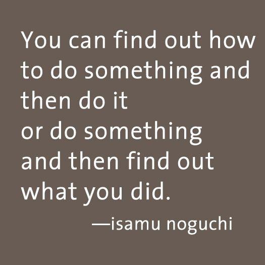 noguchi quote