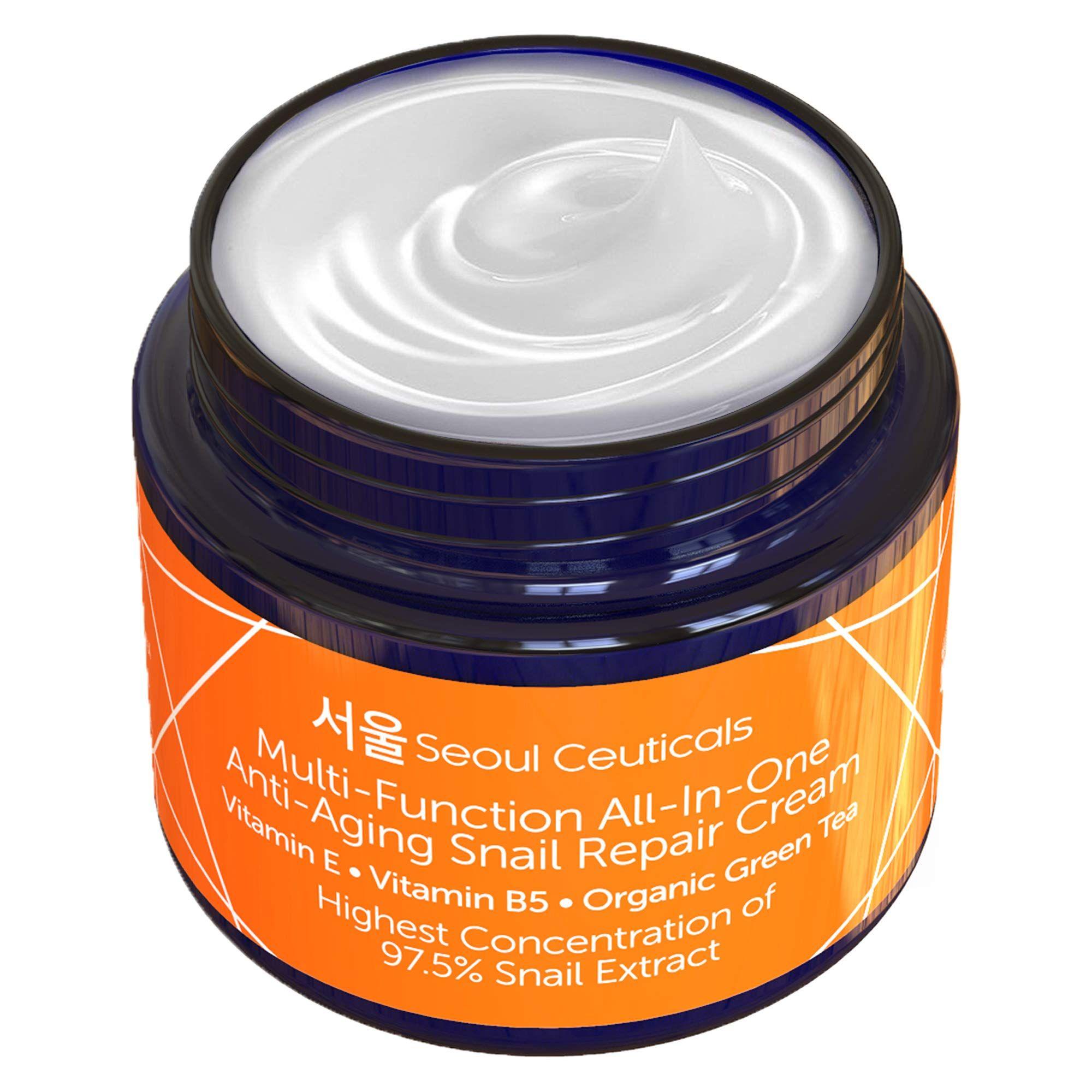 Korean Snail Repair Cream Moisturizer In 2020 Korean Skincare Best Korean Moisturizer Korean Beauty Routine