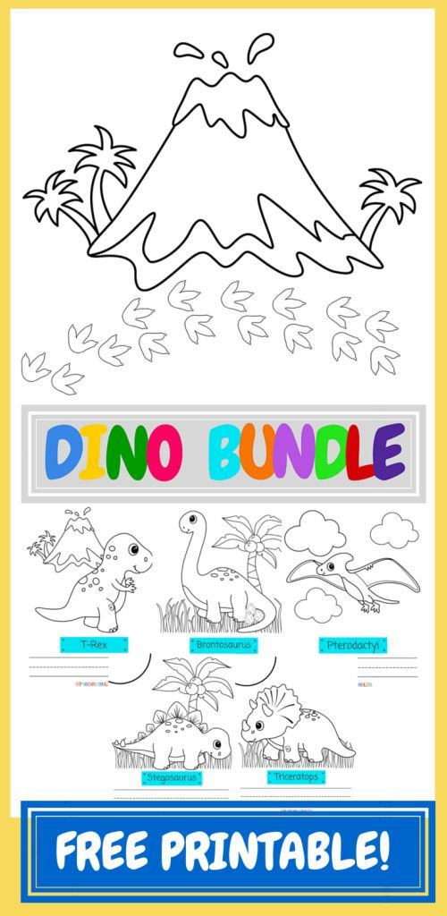 free printable dinosaur coloring pages from hip homeschooling check it out - Dinosaur Coloring Pages Free Printable