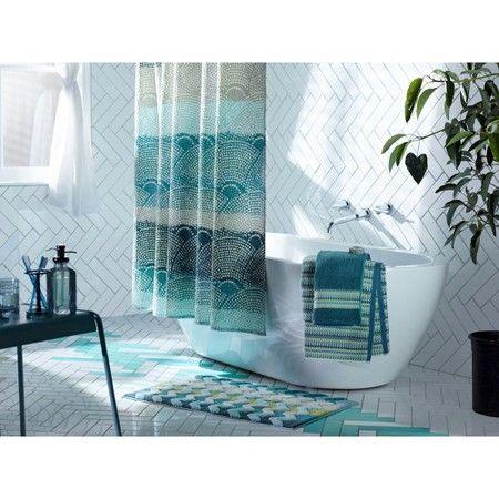 Threshold Scallop Dot Shower Curtain Target Shower Curtain