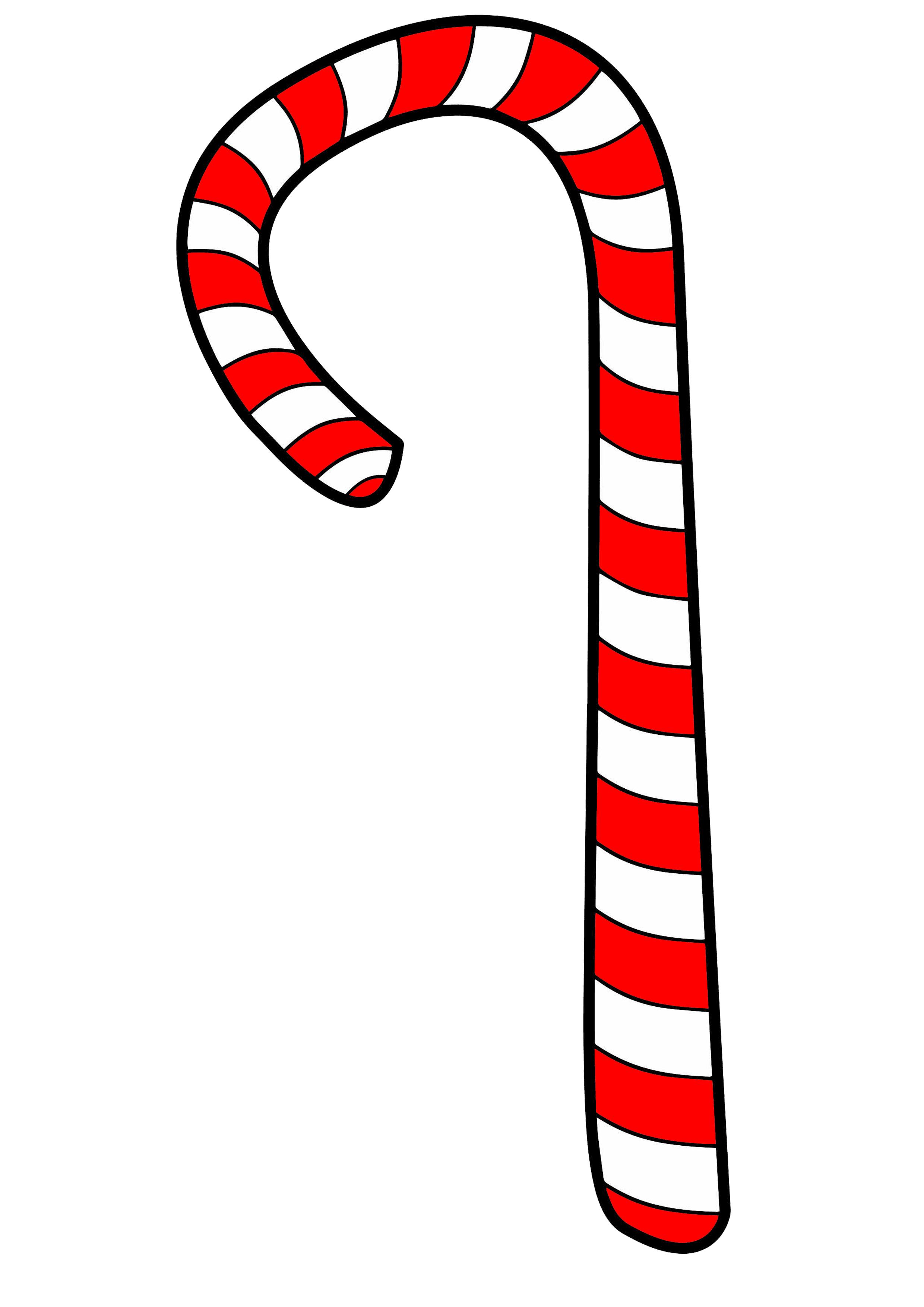 Schön Weihnachten Zuckerstange Malvorlagen Fotos - Druckbare ...