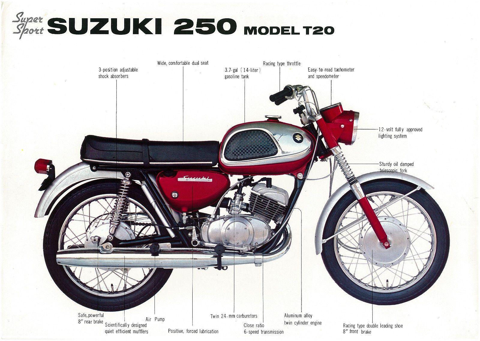 suzuki hustler   bikepics - 1966 suzuki suzuki t20 x6 hustler ltq
