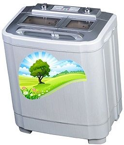 The Laundry Alternative E Z Rinse Twin Tub Portable Washer With