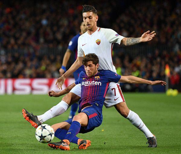 Champions League Roma Vs Barcelona: UEFA Champions League Quarter