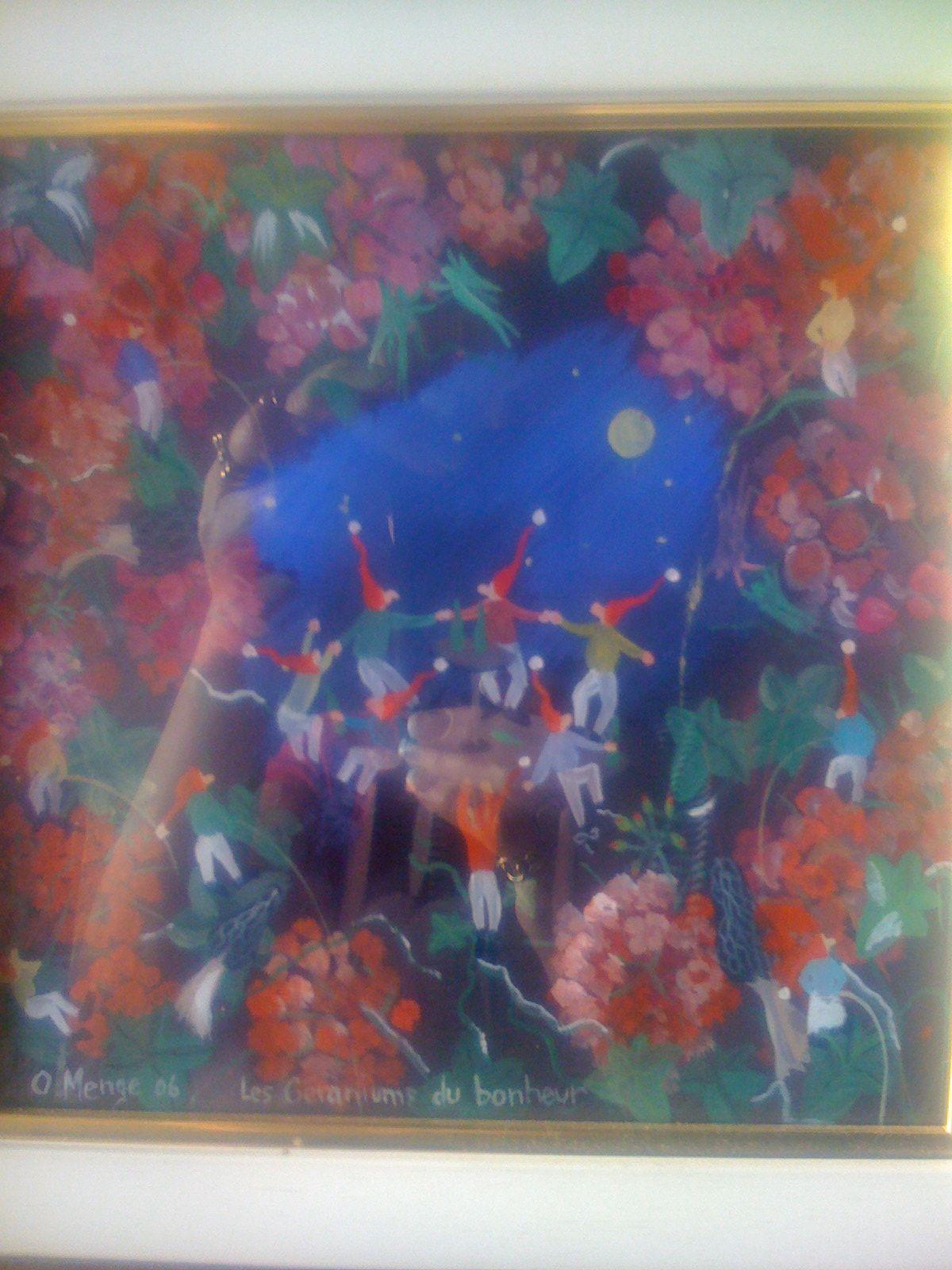 Les géraniums d'Olivier Menge