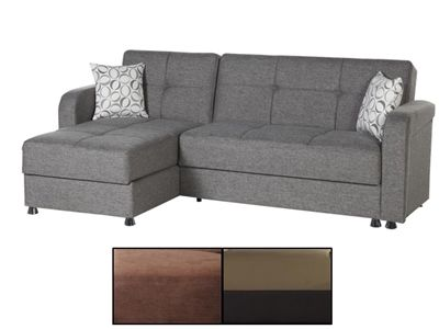 Vision Sectional Convertible Sofa Bed by Istikbal | Urban ...