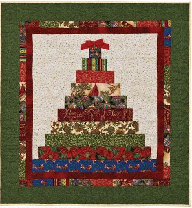 Free Pattern Day Christmas 2015 Part 1 Christmas Tree Quilt Fabric Christmas Trees Christmas Quilt Patterns