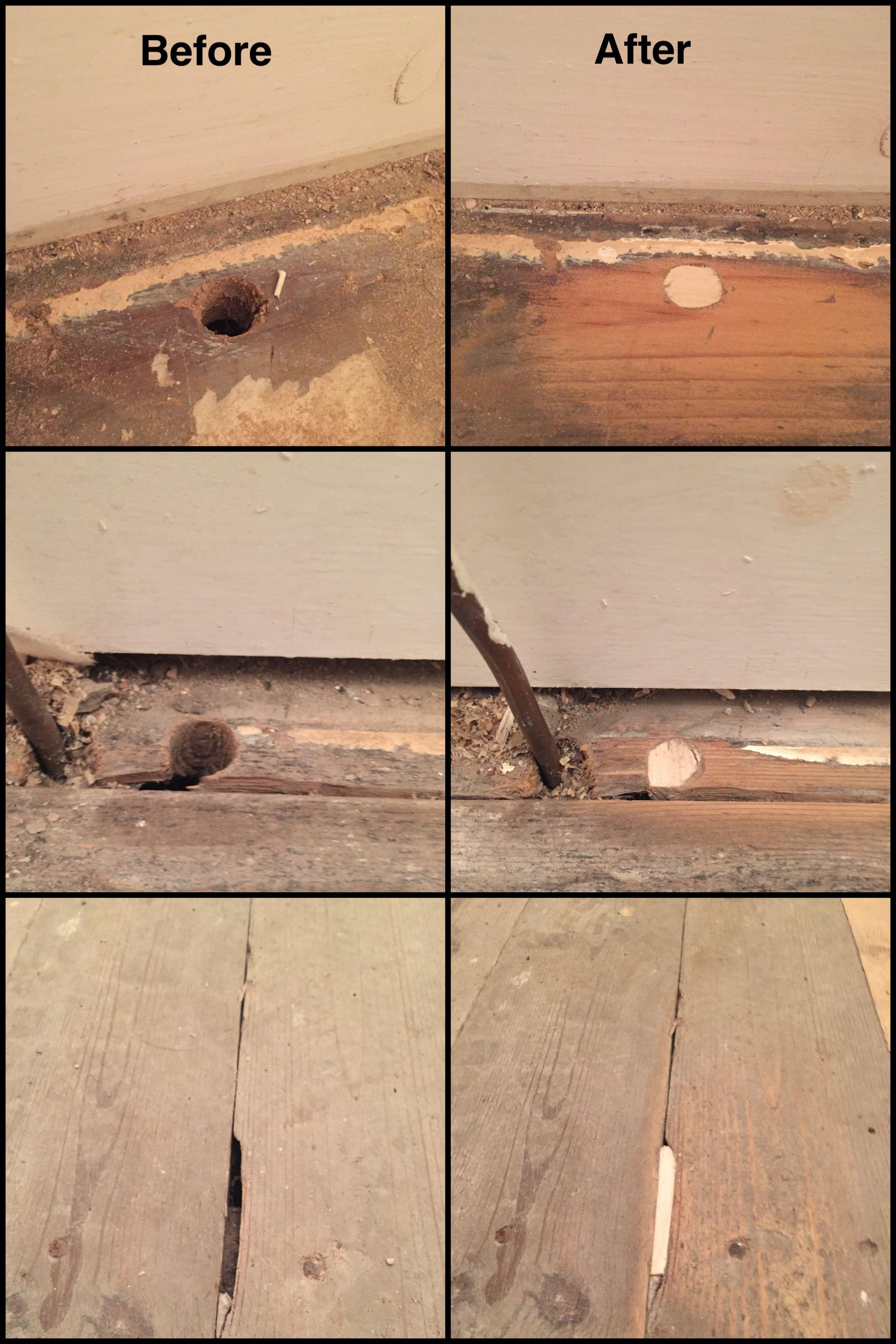 Patch Old Hardwood Floors
