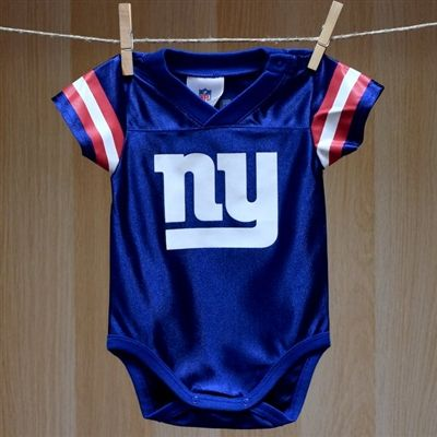 01e3e8ad NY Giants Baby Dazzle Football Jersey #00 | Baby Sports Clothes by ...