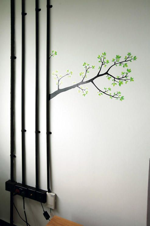 Renovation How To Conceal Electrical Trunking In Hdb Flats Home Decor Singapore Concrete Wall Electricity Home Decor