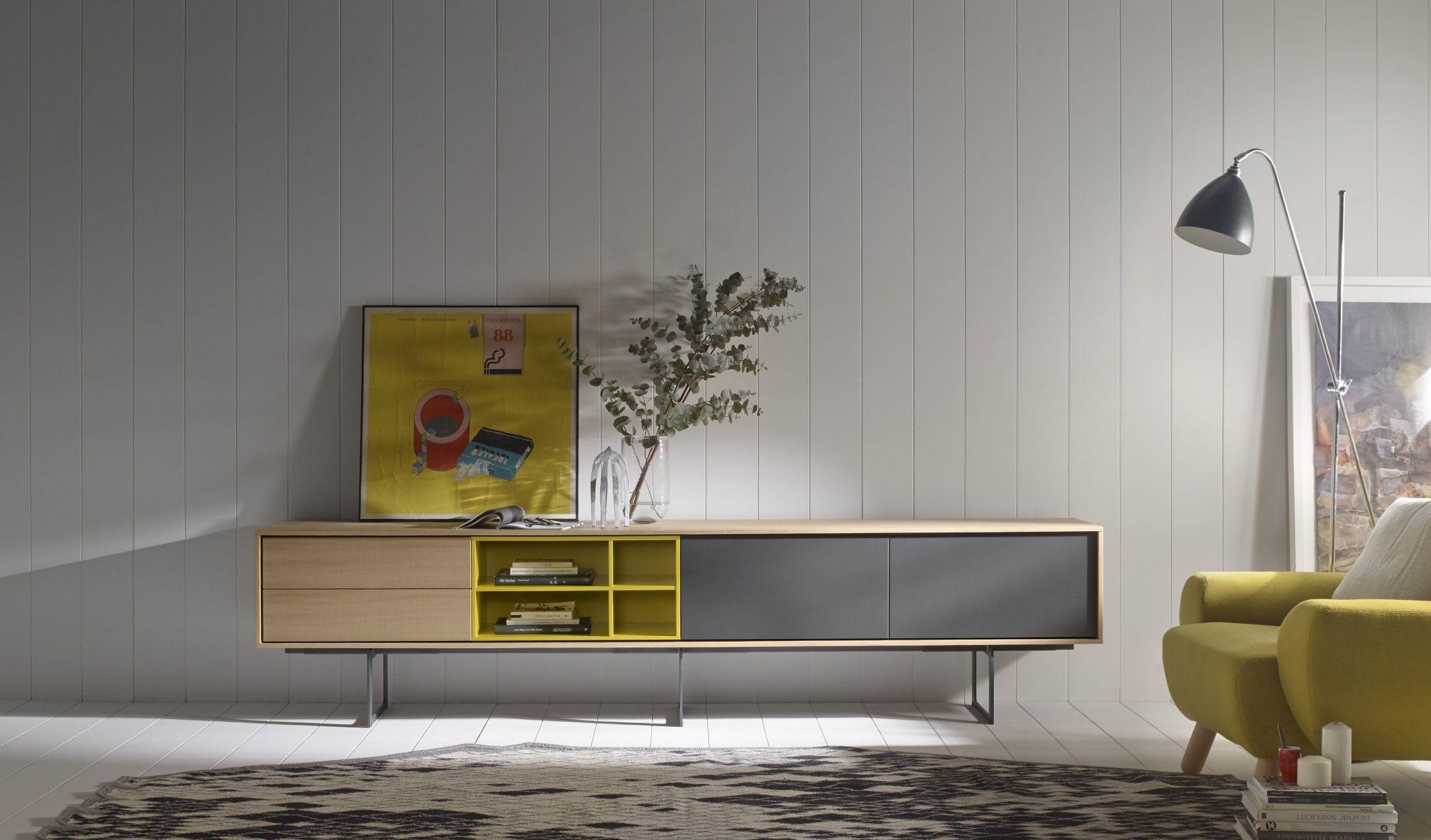 Treku Aura Collection Muebles De Tv Muebles Pinterest Tvs  # Meuble Tv Treku