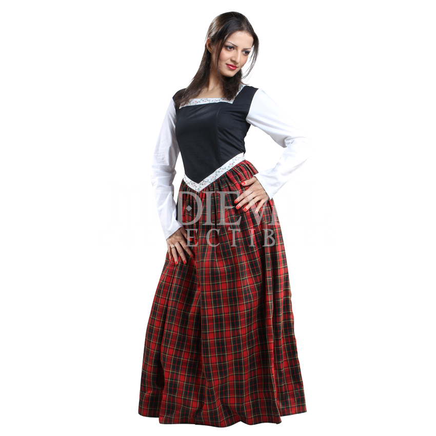 Ladies Highland Dress - DC1096 by Medieval Collectibles ...