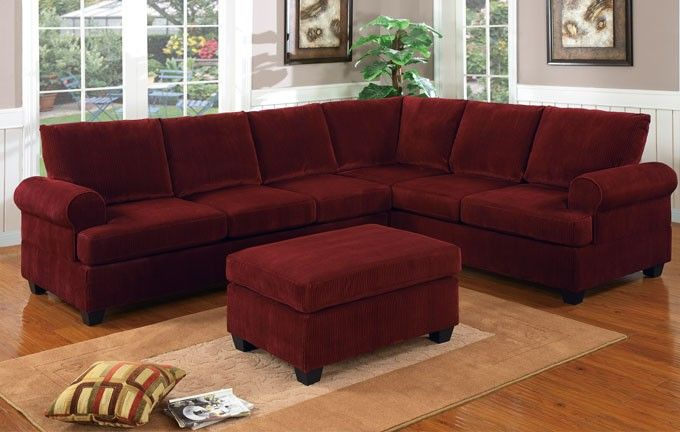 wine colored sectional sofas Google Search Design and Decor