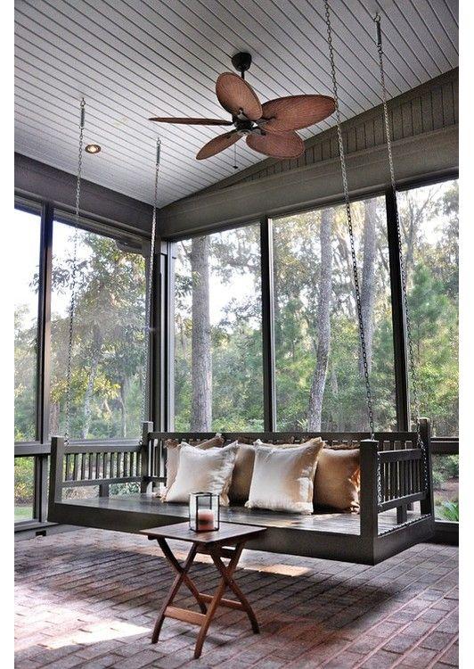 Un banc-balançoire pour votre jardin ou votre véranda, pour se ...