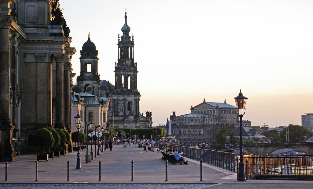 Bruhl S Terrace And Dresden Fortress Dresden Ferry Building San Francisco Old World