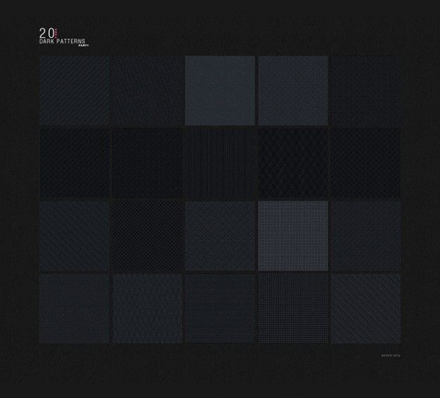 Dark Colored Pixel Patterns PSD Template