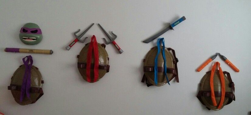 TMNT Toy Display