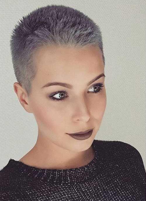 These Days Most Popular Short Grey Hair Ideas Frisuren Kurze