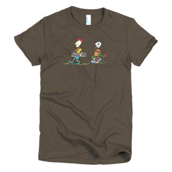 Music Old and New - Short Sleeve Women's T-Shirt