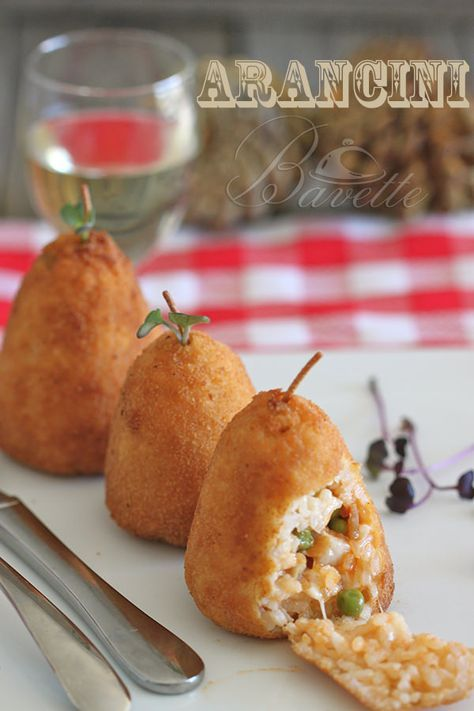 La Cocina Tradicional | Arancini O Arancine Son Una Especialidad Muy Tradicional De La