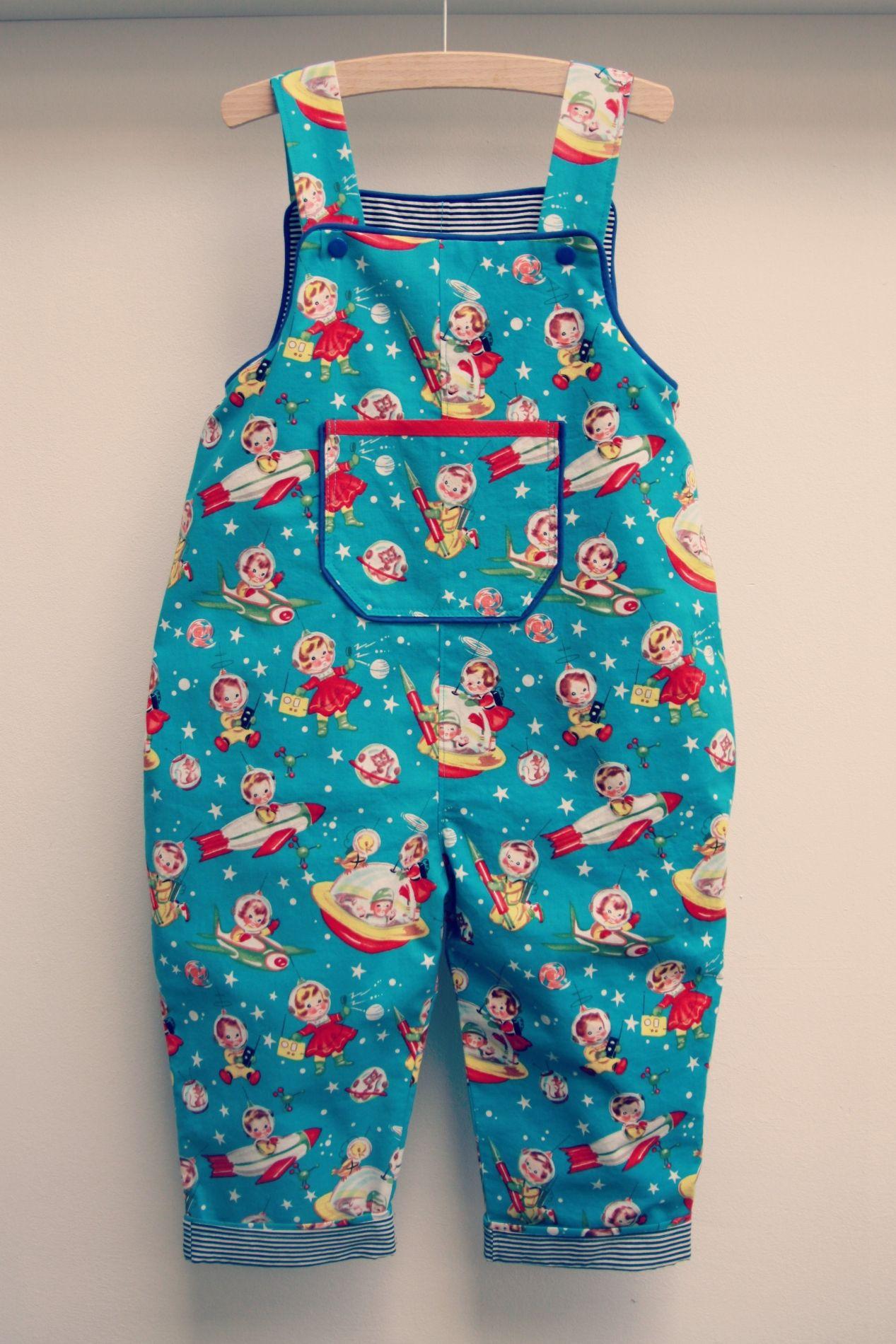 DIY - sew - salopet patroon Minikrea (Zelfgemaakte kleertjes 1 ...