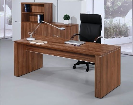 Escritorio pc de melamina madera dise os modernos web for Diseno de muebles de oficina modernos