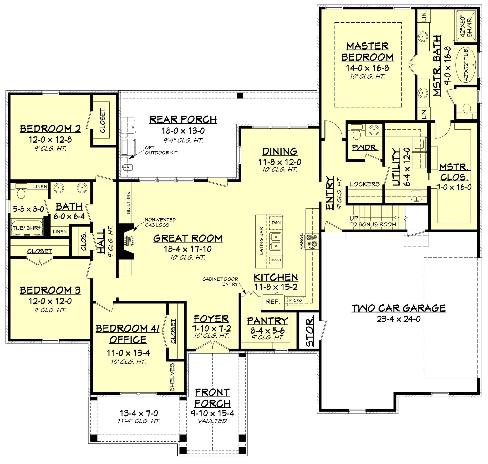 Cypress Court House Plan French Country House Plans Modern Style House Plans Farmhouse Style House Plans