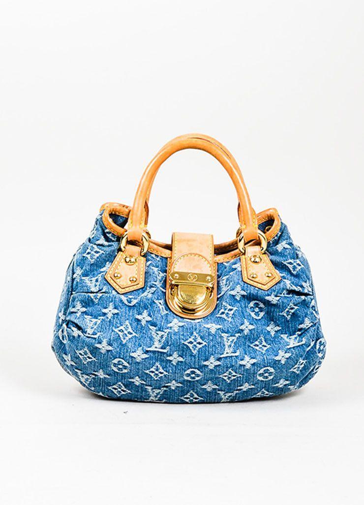 b303d2e50904 Blue and Tan Louis Vuitton