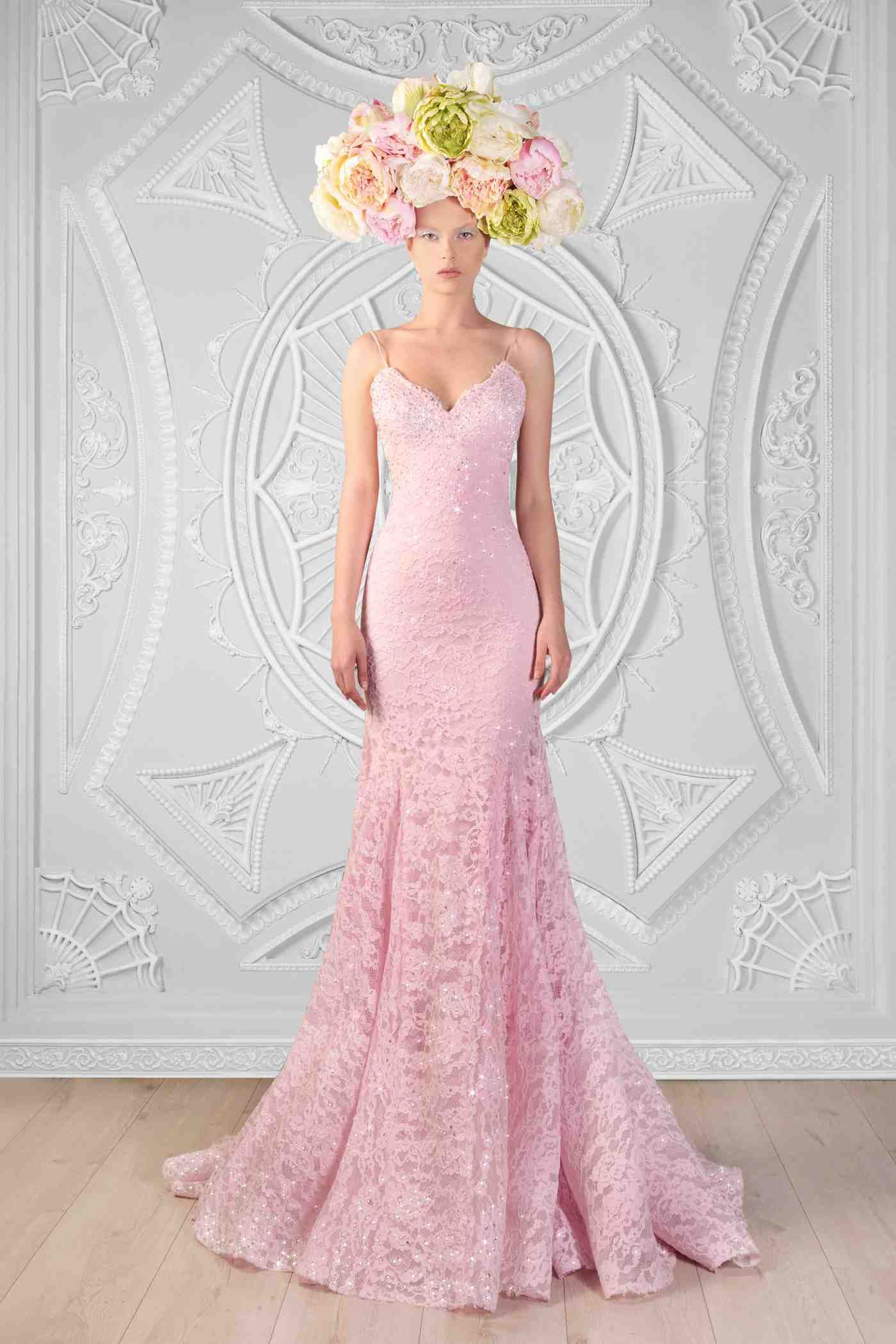 Lace And Swarovski Dress Photographer: Odette Kahwaji Makeup: Fady ...
