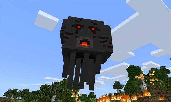 3 Headed Ghast Boss Add-on for Minecraft PE | Minecraft 2