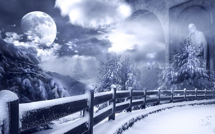 Wallpaper Winter Fantasy Wallpaper Winter Wallpapers Download